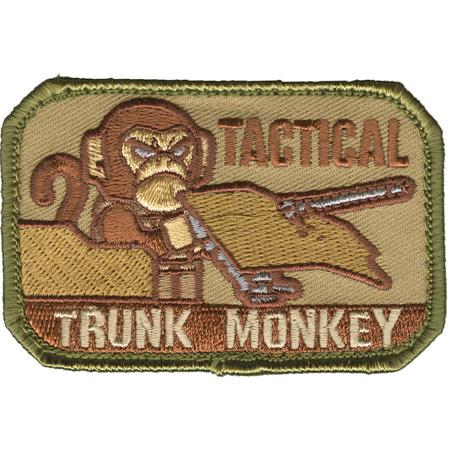 Mil-Spec Monkey Tactical Trunk Monkey Patch