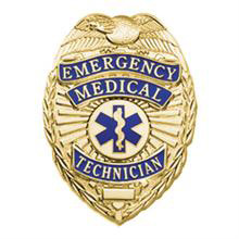 LawPro Deluxe EMT Badge