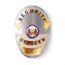 LawPro LAPD Style Security Officer Badge