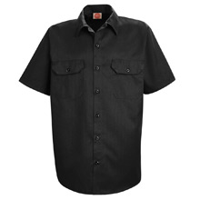 Red Kap Utility Uniform Short Sleeve Shirt
