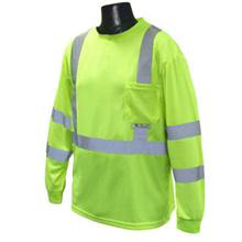 Radians Class 3, Long Sleeve T Shirt, Hi Vis