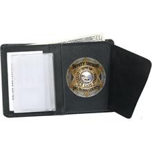 Strong Book Style Badge Wallet