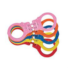 Peerless Color Plated Hinged Handcuffs