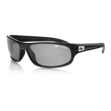 Bolle Anaconda Shiny Black Polarized Sunglasses with TNS Len
