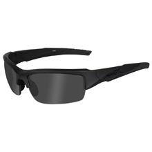 Wiley X Valor Black Ops Sunglasses Smoke Grey Matte Black