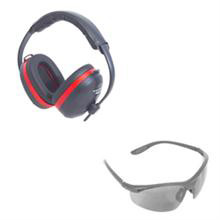 Radians Performance Earmuffs and Smoke Lens Kit