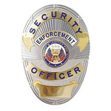 Hero's Pride LAPD Style Security Officer Badge