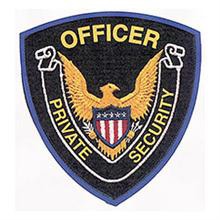 LawPro Private Security Officer Shoulder Patch