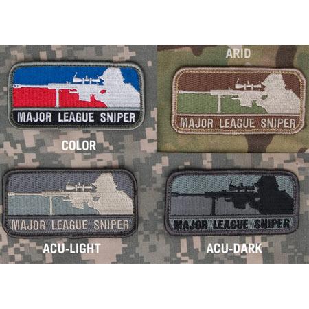 Mil-Spec Monkey Major League Sniper Patch
