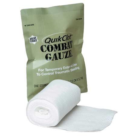 QuikClot Combat Gauze