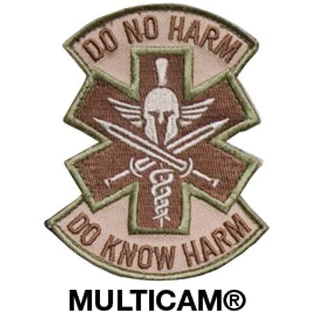 Mil-Spec Monkey Do No Harm Spartan Patch