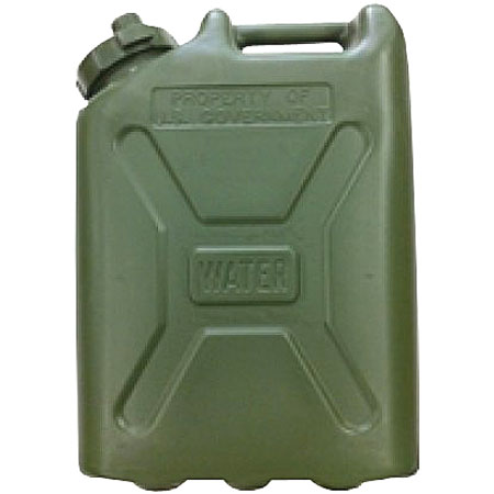 BasicGear 5-Gallon Plastic Water Can