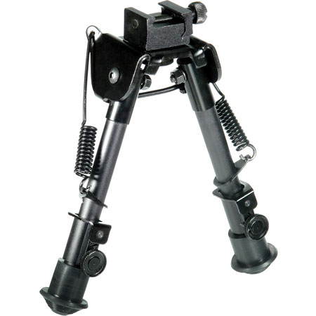 UTG Tactical OP Bipod - SWAT/Combat Profile Adjustable Heigh