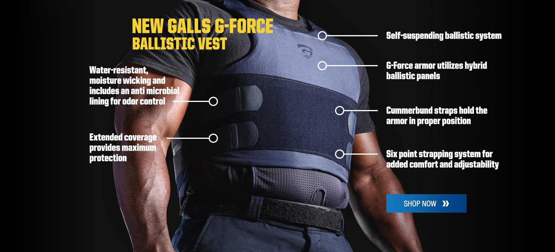 New Galls G-Force ballistic vest