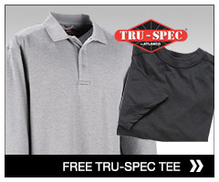 Free Tru-Spec Cotton T-Shirt