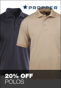 Save 20% off select polos