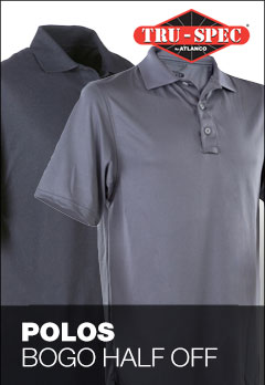Buy one Tru-spec polo, get 2nd half off