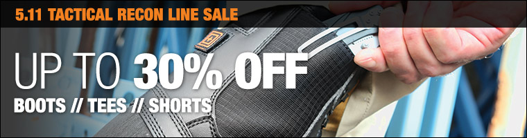 Up to 30% off select 5.11 Tactical