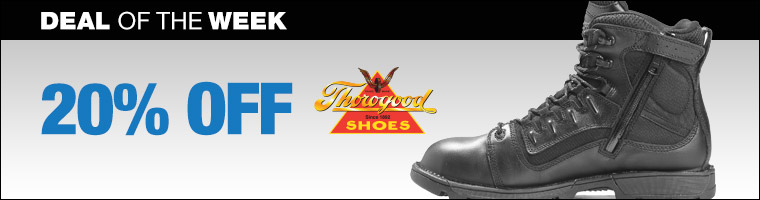 Save 20% on Thorogood