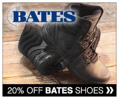 20% off Bates boots