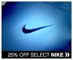 25% off select Nike