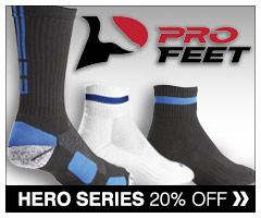 20% off Hero's Series Socks