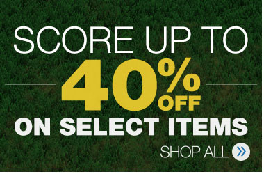 Score Up To 40% Off On Select Items