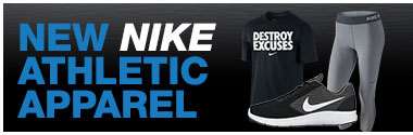 New Nike Athletic Apparel