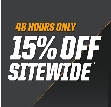 Limited time | 15% off sitewide*