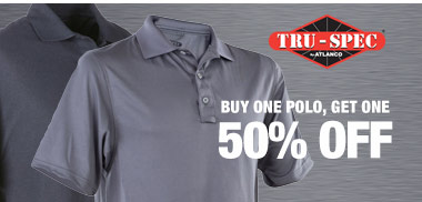 Buy one Tru-spec polo get one half off