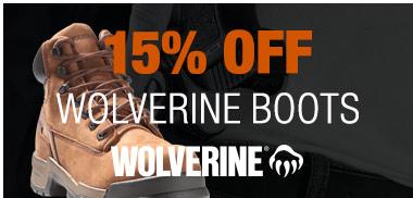 15% off Wolverine