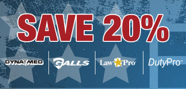 Save 20% on Dynamed, Galls, Lawpro and Dutypro