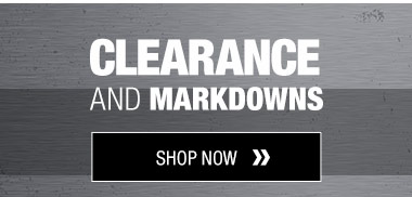 Clearance and Markdowns