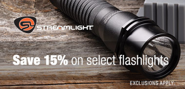 Save 15% on select Streamlight