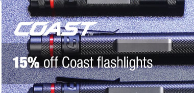 Save 15% on Coast
