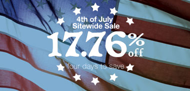 4th of July Sitewide Sale