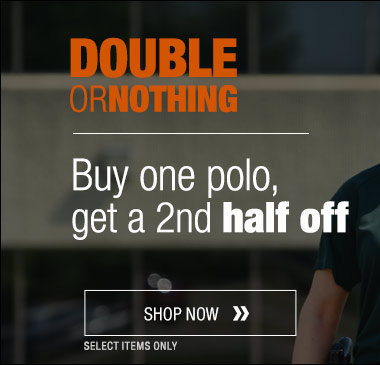 Buy one polo get a second half off