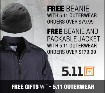 5.11 Outerwear Promotion