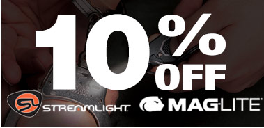 10% Off Maglite and Streamlight