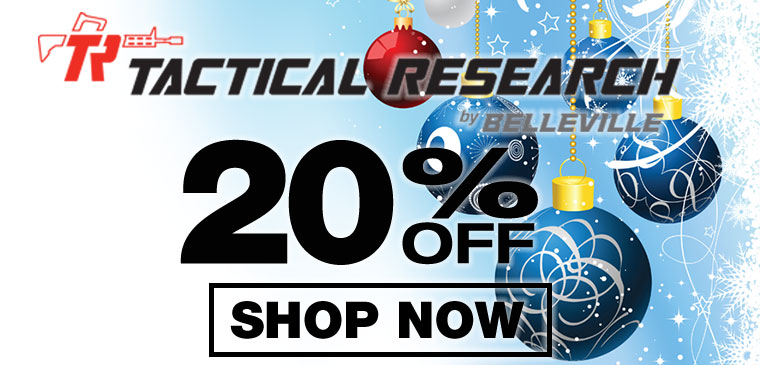 20% off Tactical Research