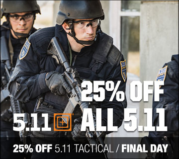 Final day for 25% off 5.11