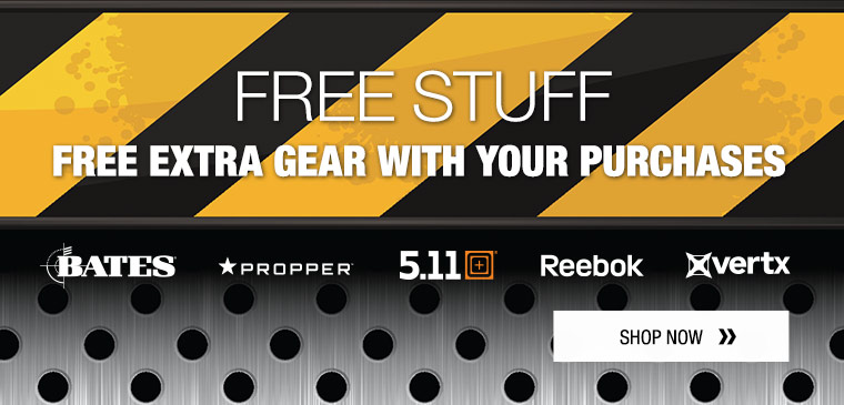 Free gifts from 5.11 Tactical