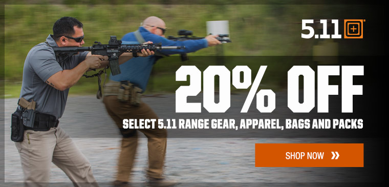 20% off select 5.11 Tactical