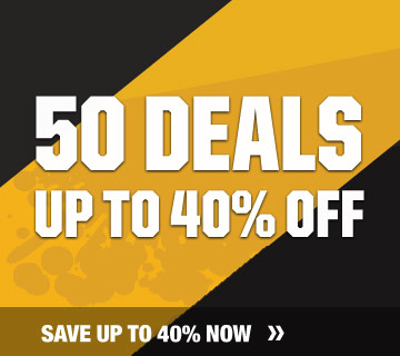 50 deals up to 40% off
