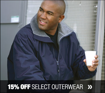 15% off select outerwear