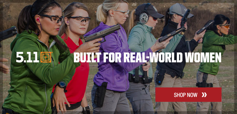 5.11 Tactical gear built for women