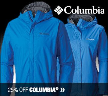25% off Columbia
