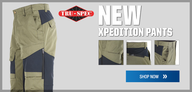 New Tru-spec Xpedition pants