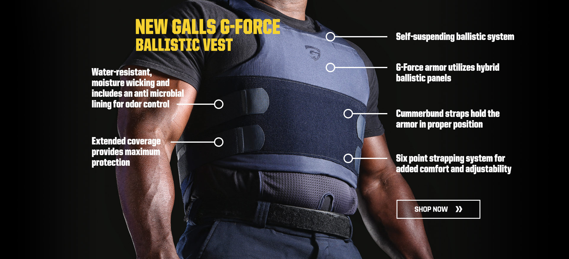 New Galls G-Force ballistic vest