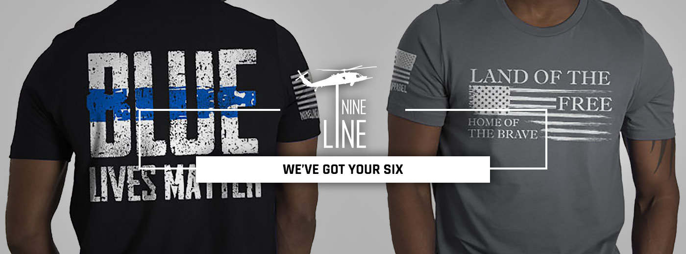 Nine Line gear at Galls, the public safety authority